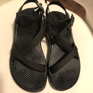 Chaco black sandals size 8
